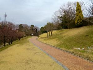 鴻ノ巣山公園道