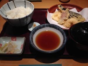 天ぷらよしき定食