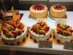 Les Freres Moutaux 岩倉本店ホールケーキ
