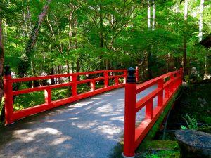京都大原三千院庭園橋