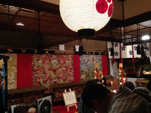 祇園祭前祭掛け軸