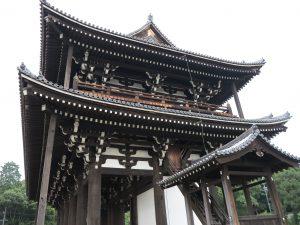 東福寺三門建築