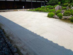 東福寺開山堂枯山水水