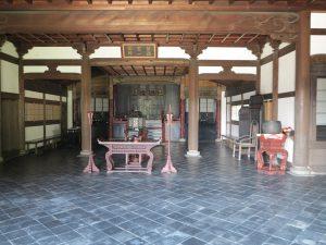 東福寺開山堂中