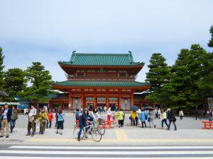 平安神宮桜お花見1