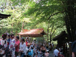 夏七夕祭り貴船神社5